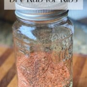 Pin for Dry Rub for Ribs Recipe.